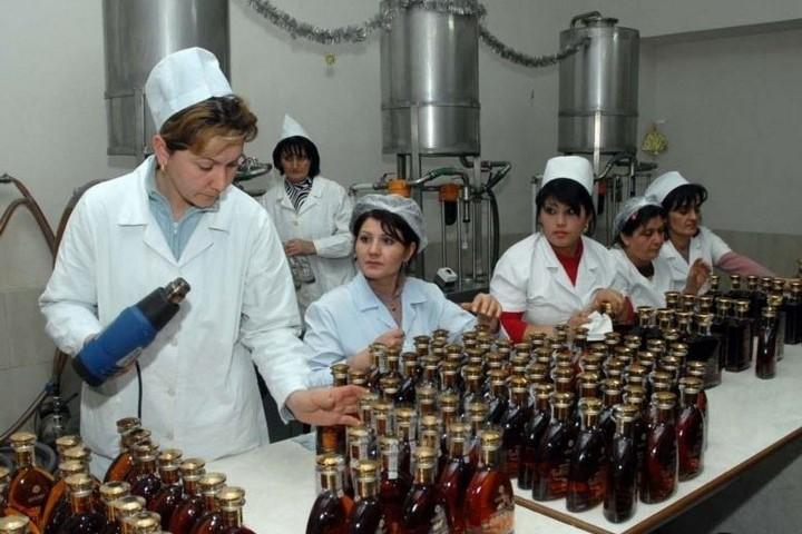 Коньячный завод в Армении