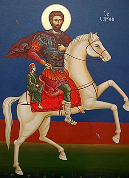 День Святого Саркиса - покровителя влюбленных