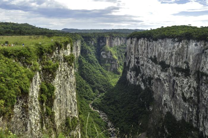 Парк известен своими захватывающими каньонами и тропическими лесами, из-за своей близости к Атлантическому океану, парк довольно влажный и часто покрыт туманом.