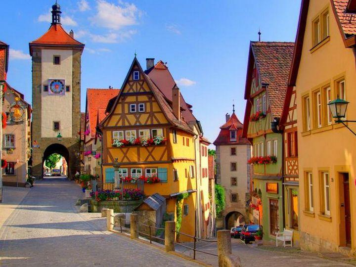 20 деревень словно сошедших со страниц сказочной книги, Ротенбург, Германия