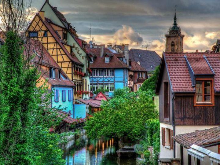 20 деревень словно сошедших со страниц сказочной книги, Кольмар, Франция