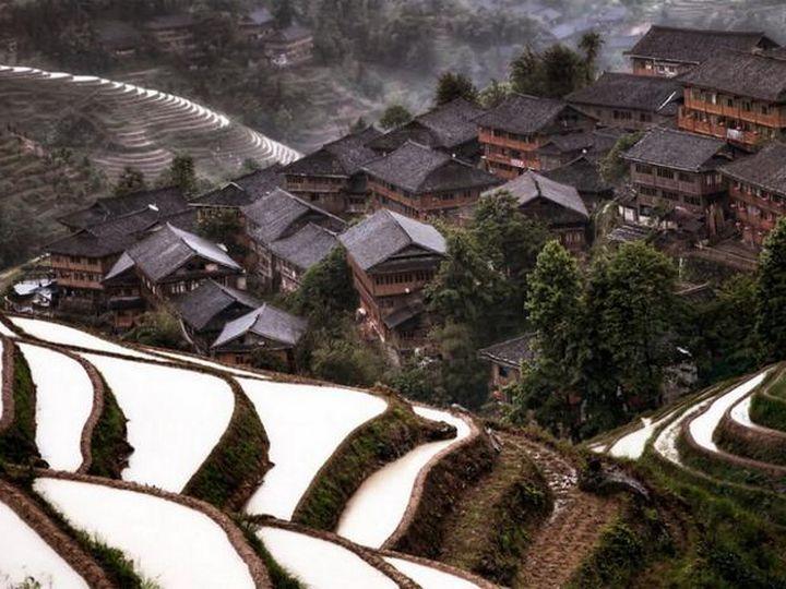 20 деревень словно сошедших со страниц сказочной книги, Горная деревня, Китай