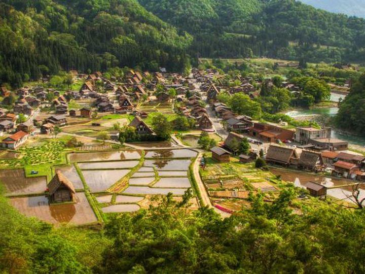 20 деревень словно сошедших со страниц сказочной книги, Сиракава-го, Япония