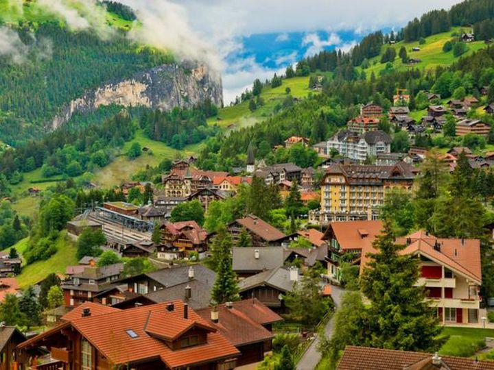 20 деревень словно сошедших со страниц сказочной книги, Венген, Швейцария