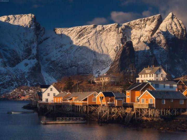 20 деревень словно сошедших со страниц сказочной книги, Рейне, Норвегия