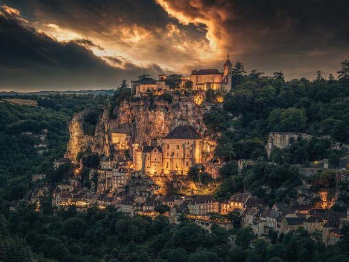 20 деревень словно сошедших со страниц сказочной книги, Рокамадур, Франция