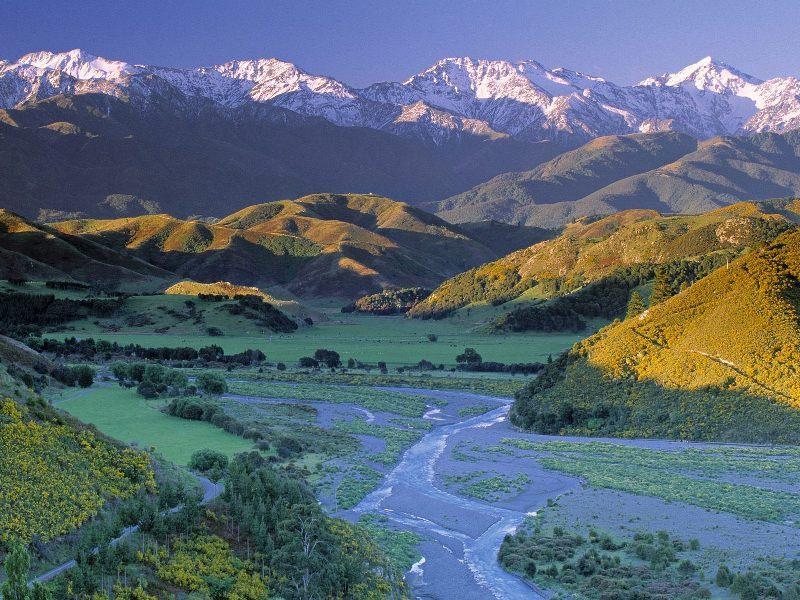 Южный остров Новой Зеландии — рай на земле_258
