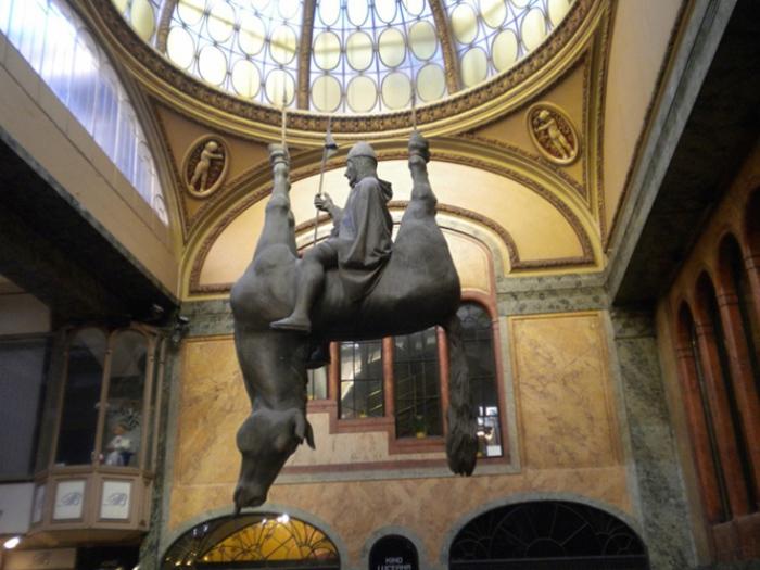 Статуя Святого Вацлава – древнего короля Чехии. | Фото: fresher.ru.
