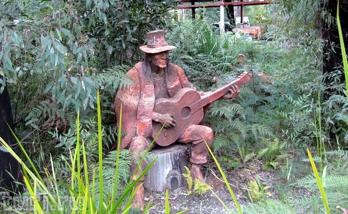 Сказочные скульптуры в саду Бруно Торфса