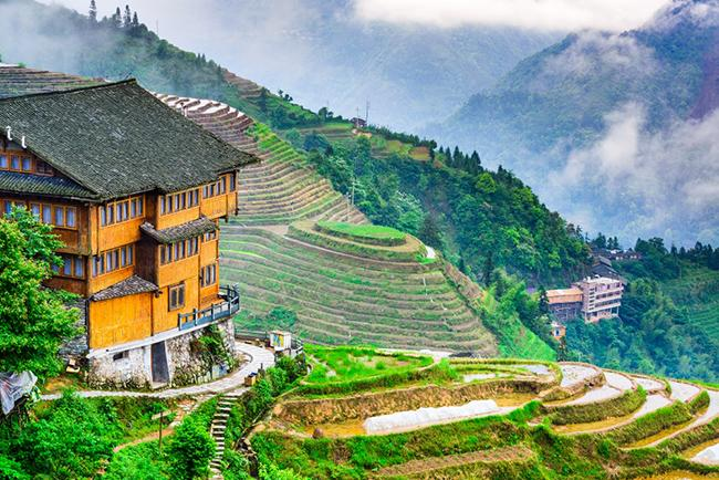 Лунцзи, Китай